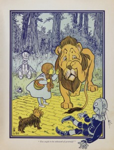 Wizard of Oz book illustration
